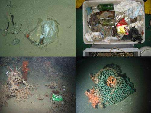 European seafloor survey reveals depth of marine litter problem