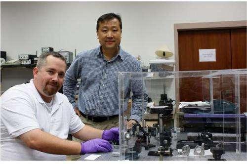 Exploring extraordinary optical transmission in a plasmonic cavity