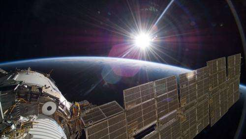 Exploring Mars in low Earth orbit