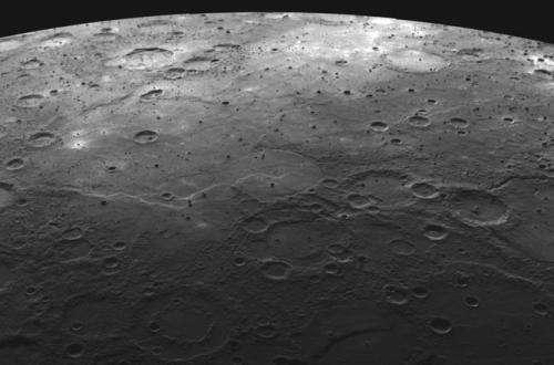 Explosive volcanoes light up Mercury's deep past