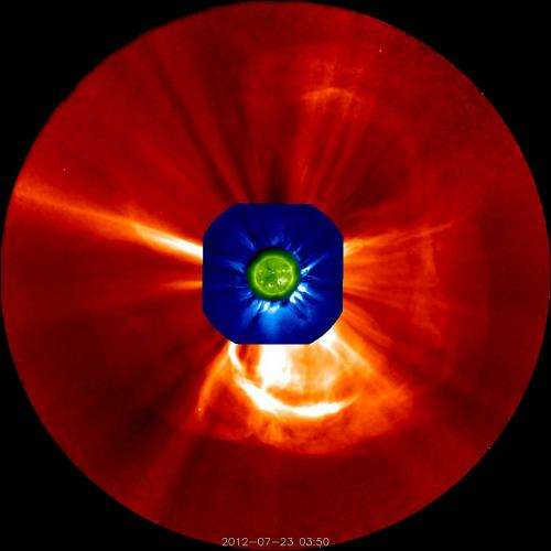 Scientists using UNH detector illuminate cause of sun's 'perfect storm'