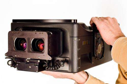 Filmmakers to get thrill-ride scenes with IMAX 3D digital camera