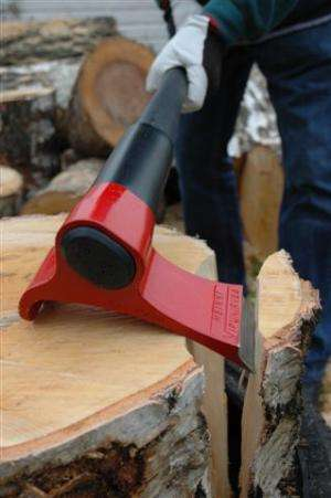 Finnish inventor rethinks design of the axe