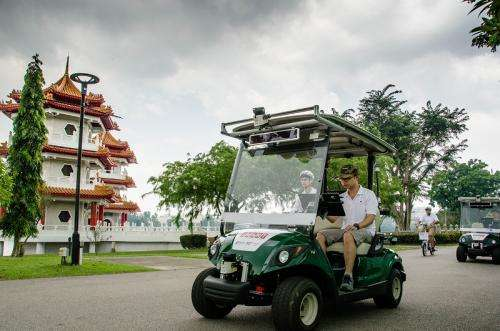 First driverless vehicles for public launched in Singapore