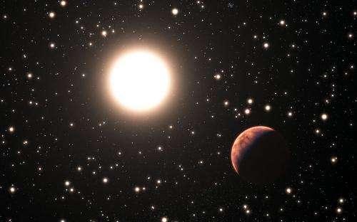 First planet found around solar twin in star cluster