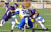 Front-of-head hits blamed for nearly half of young football player concussions