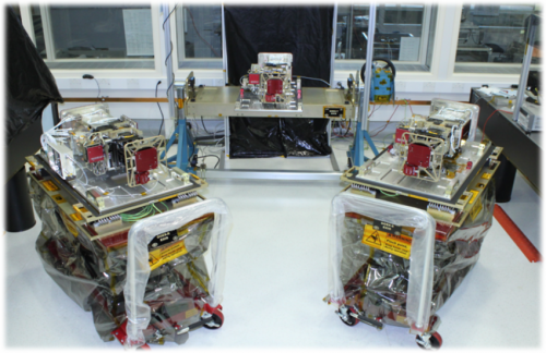 GOES-S satellite EXIS instrument passes final review