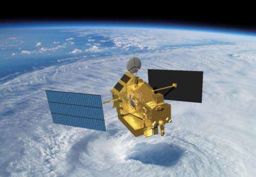 Goodbye to rainy days for US, Japan's first rain radar in space
