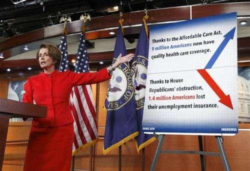 GOP-led House again targets Obama health care law