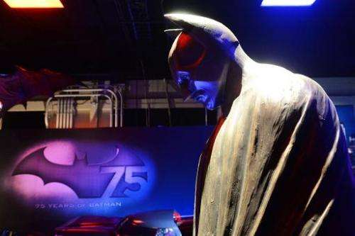"""Gotham City Research has claimed to be the """"the Batman of the finance world"""", shown here is a statue of the superhero"""