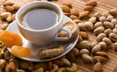 Ground pistachio coffee could be healthier alternative to decaf