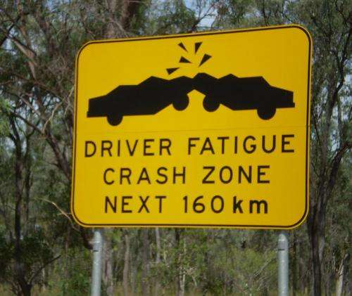 Heavy-vehicle drivers' crash risk assessed