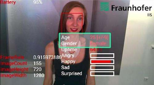 SHORE facial analysis spots emotions on Google Glass