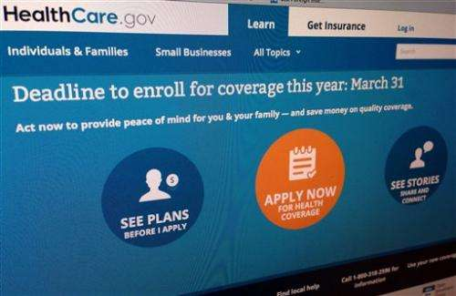 HHS grants extra time to enroll for health care