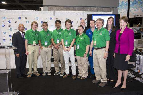 High school students create winning design for NASA's first flight of Orion