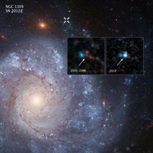 Hubble finds supernova star system linked to potential 'zombie star'