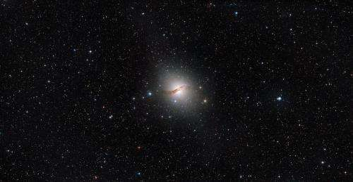Hubble traces the halo of a galaxy more accurately than ever before