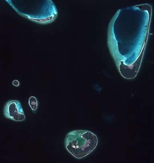 Image: Drowning islands