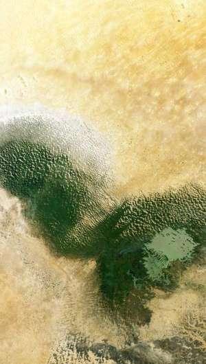 Image: Lake Chad from orbit