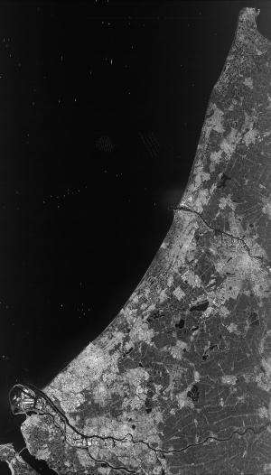 Image: Sentinel's view of the West Coast of the Netherlands