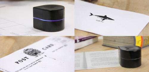 Kickstarter Project ZUtA - a crawling microprinter