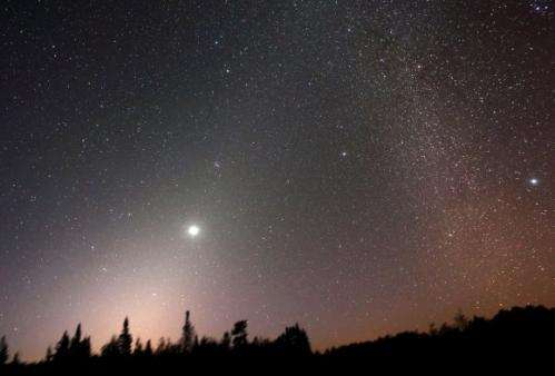 LADEE sees zodiacal light before crashing into moon, but Apollo mystery remains