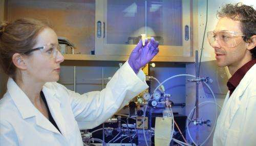 LLNL partnership with Calysta works to convert natural gas to liquid fuel