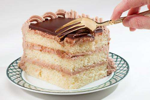 Making white layer cakes with more fiber or less fat