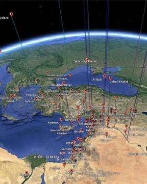 Money talks when ancient Antioch meets Google Earth