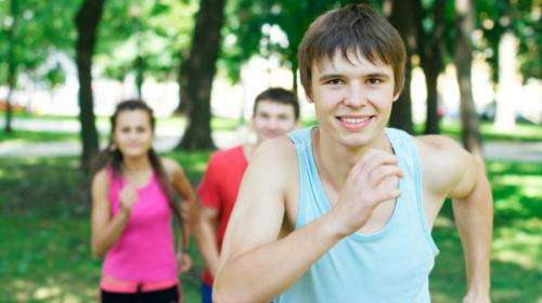 More support maintains adolescent's healthy turnaround