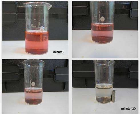 Nanostructures to facilitate the process to eliminate organic contaminants in water