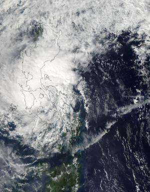NASA catches 3 days of Typhoon Hagupit's motion over Philippines