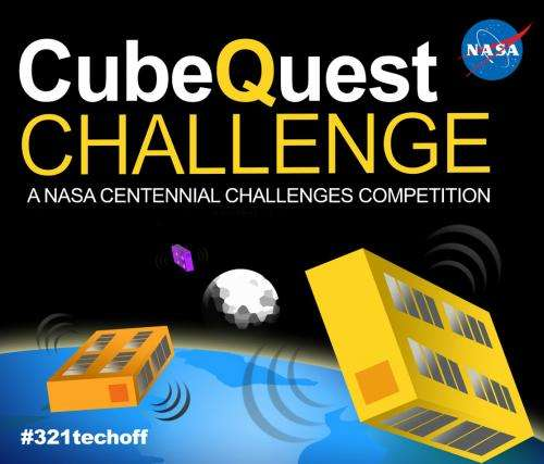 NASA Opens Cube Quest Challenge for Largest-Ever Prize of $5 Million