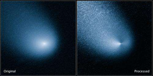 NASA's Hubble Space Telescope spots Mars-bound comet sprout multiple jets