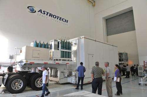 NASA's MMS spacecraft begin pre-launch activities in Florida