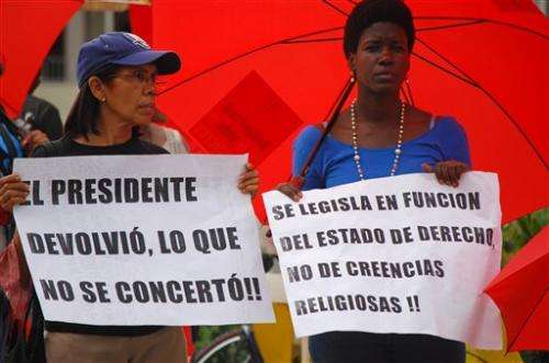 New Dominican law OKs abortion if life at risk