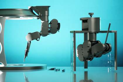 New microsurgery robot is five times as precise as a human hand