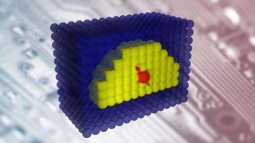 New quantum dots herald a new era of electronics operating on a single-atom level