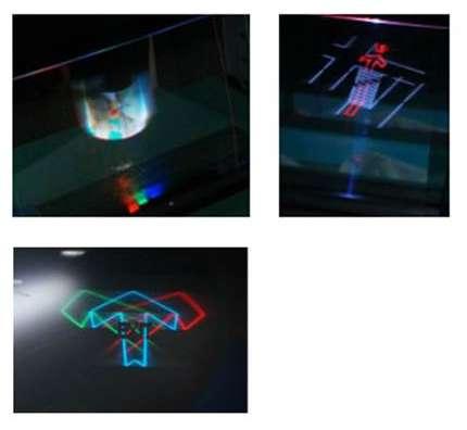 Omron develops 3D display technology using transparent sheet