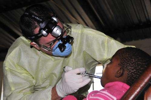 Oral health improves via education