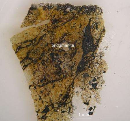 Our planet's most abundant mineral now has a name