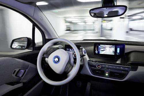 BMW to reveal driverless innovations that allow for 360- degree collision avoidance and valet parking