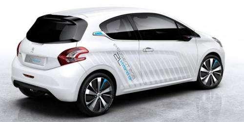 Peugeot hybrid compressed-air car set for Paris Motor Show