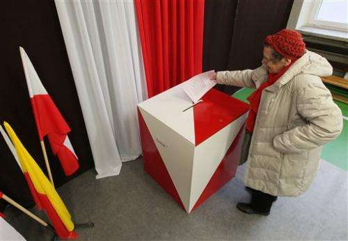 Polish election commission website hacked