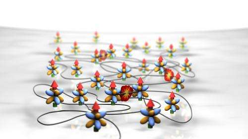 Quantum chaos in ultracold gas discovered
