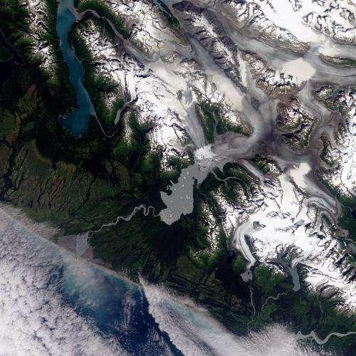 Retreat of Yakutat Glacier