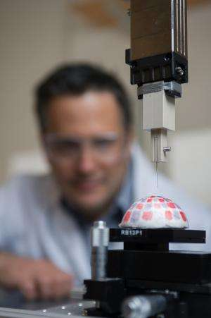 Robotic arm probes chemistry of 3-D objects by mass spectrometry
