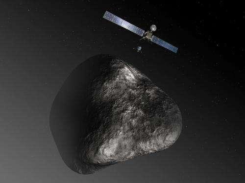 Rosetta's final sprint to the comet