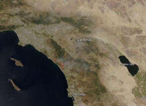 San Diego county fires still rage