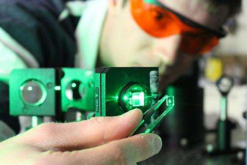 Semiconductor material can be magnetized with light, suggesting new technology opportunities